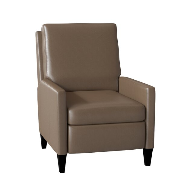 Castiel Leather Manual Push Back Recliner by Bradington-Young Bradington-Young
