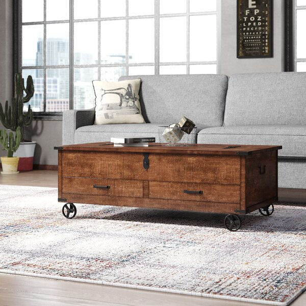 Arlington Coffee Table with Storage by Trent Austin Design
