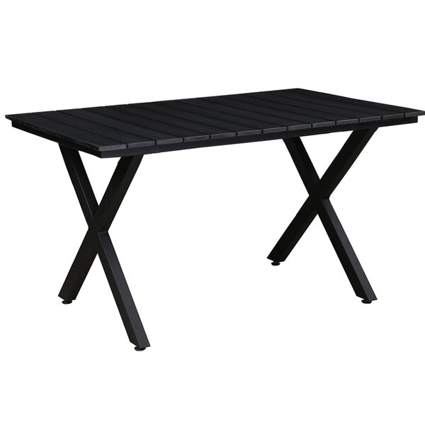 Galina Rectangular Modern Contemporary Dining Table by Wrought Studio