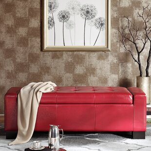 Shop For Valerie Upholstered Storage Bench By Alcott Hill