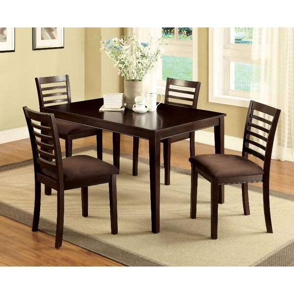 Bram 5 Piece Dining Set by Red Barrel Studio