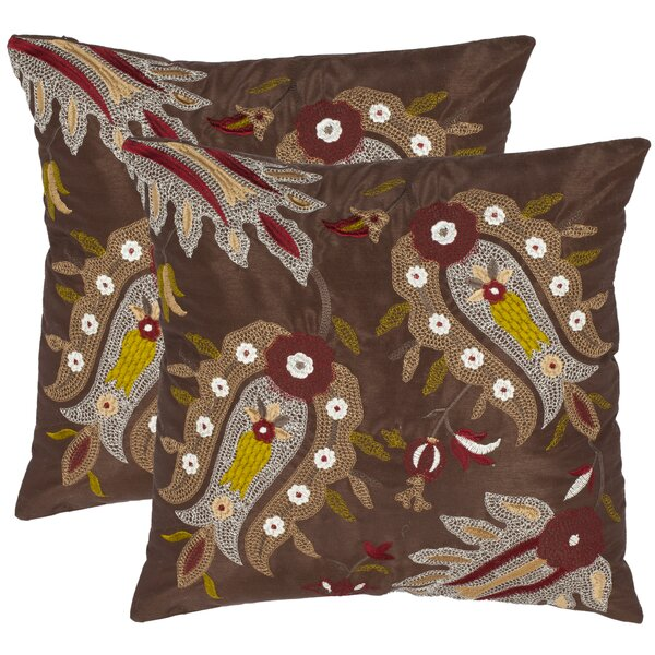 Grieve Cotton Throw Pillow (Set of 2) by Bungalow Rose