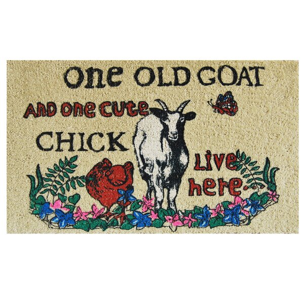 One Old Goat Doormat by Home & More