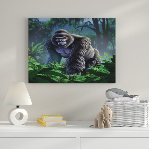 Guardian Graphic Art on Wrapped Canvas by Zoomie Kids
