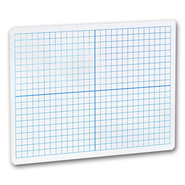X-Y Axis Dry Erase Lap Board Whiteboard, 9 x 12 by Flipside