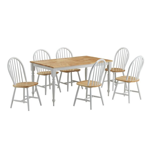 Bella 7 Piece Dining Set by August Grove August Grove
