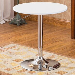 Bargain Trautman Adjustable Height Pub Table ByWade Logan