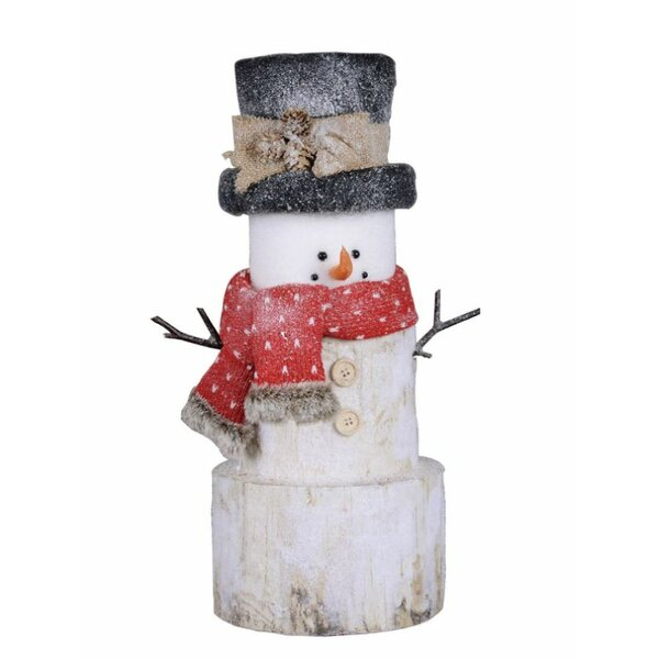 Small Holiday Snowman Figurine by The Holiday Aisle