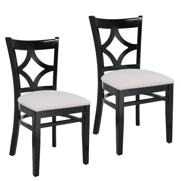 Mignone Solid Wood Side Chair (Set of 2) by Bloomsbury Market Bloomsbury Market
