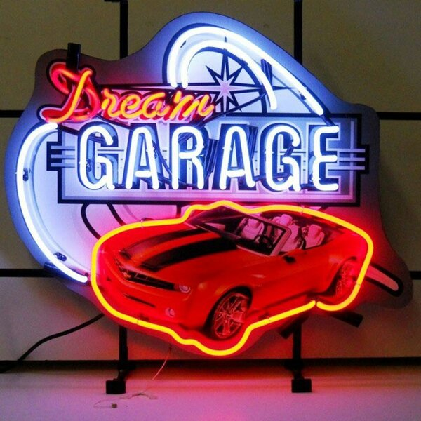 Car & Motorcycles Dream Garage Camaro Neon Sign by Neonetics
