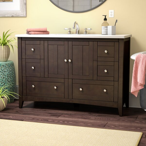 Artic Modern 48 Single Bathroom Vanity Set by Longshore Tides