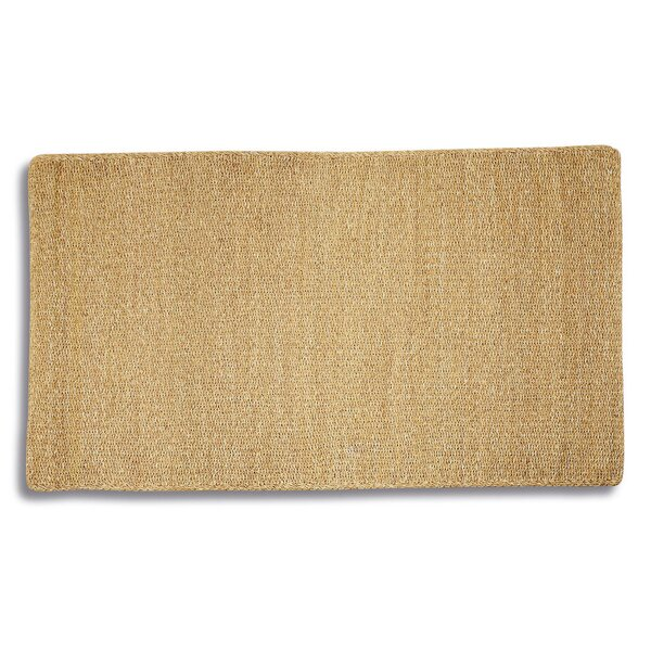 Schindler Seagrass Hand-Woven Brown Area Rug by Highland Dunes