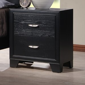 Dravo 2 Drawer Nightstand by Latitude Run
