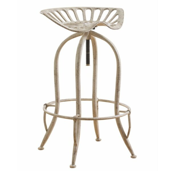 Queensbury Adjustable Height Bar Stool by Gracie Oaks