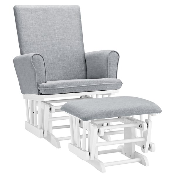 Roth Glider and Ottoman by Viv + Rae
