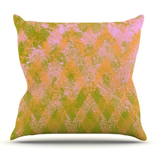 Fuzzy Feeling by Marianna Tankelevich Outdoor Throw Pillow by East Urban Home