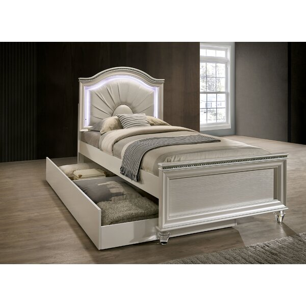 Setzer Panel Bed with Drawers by Everly Quinn
