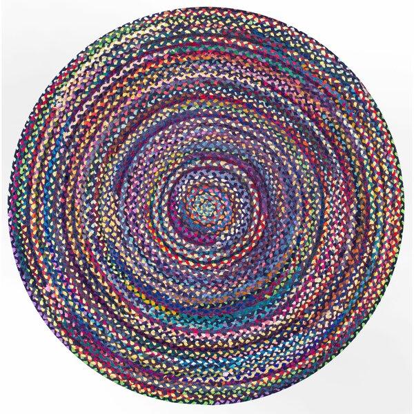 Pollard Hand-Braided Blue/Purple Area Rug by Zipcode Design