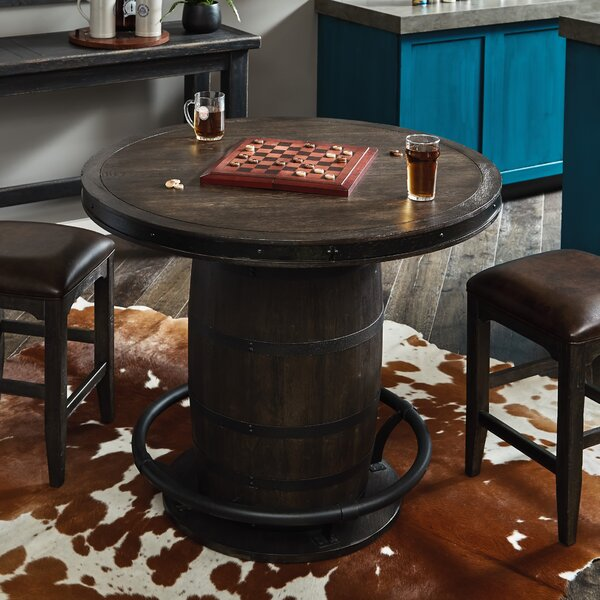 Renick Barrel Pub Table by Foundry Select
