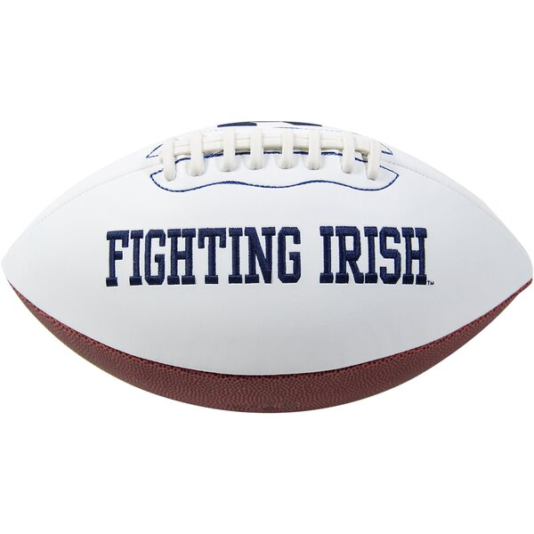 Rudy Ruettiger Signed Notre Dame Jarden Signature Football by Steiner Sports
