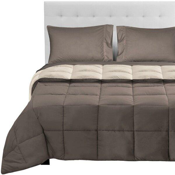 Ortegon Reversible Comforter Set by Ebern Designs