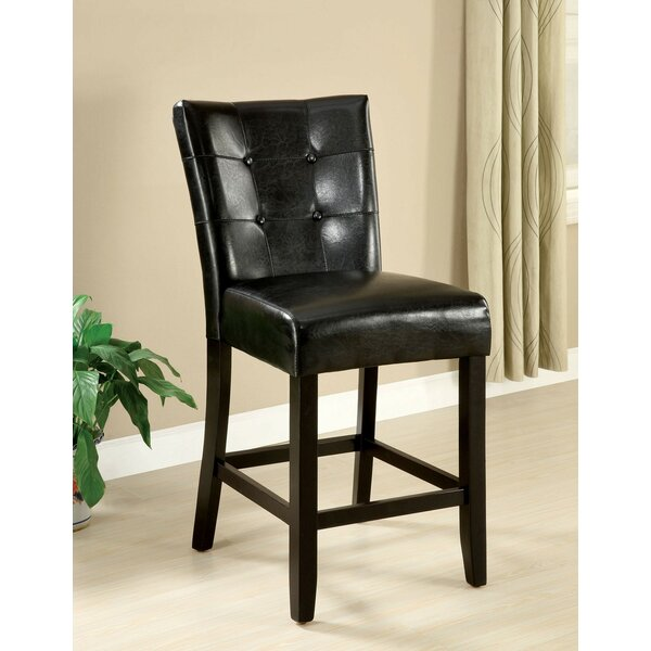 Minster Counter Height Upholstered Dining Chair (Set of 2) by Fleur De Lis Living