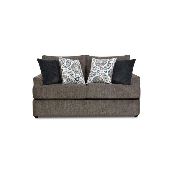 Online Shopping Simmons Upholstery Dizon Loveseat by Red Barrel Studio by Red Barrel Studio