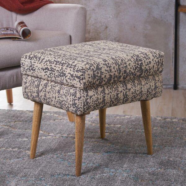 Jeneva Fabric Ottoman by Ivy Bronx