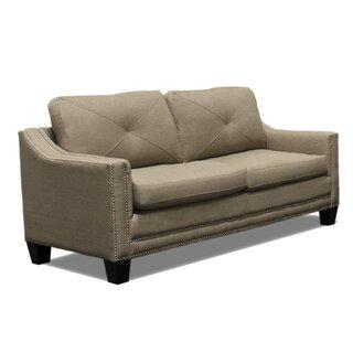 Wilburton Loveseat Sofa by Charlton Home
