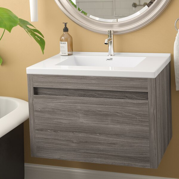Rosas Modern 30 Single Bathroom Vanity Set by Wrought Studio