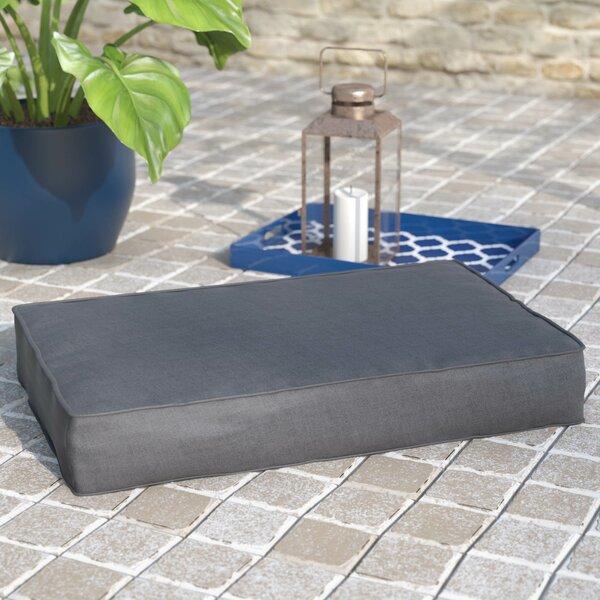 Sunbrella Indoor/ Indoor/Outdoor Floor Cushion by Rosecliff Heights