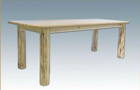 #2 Tustin 4 Post Solid Wood Dining Table By Loon Peak Wonderful