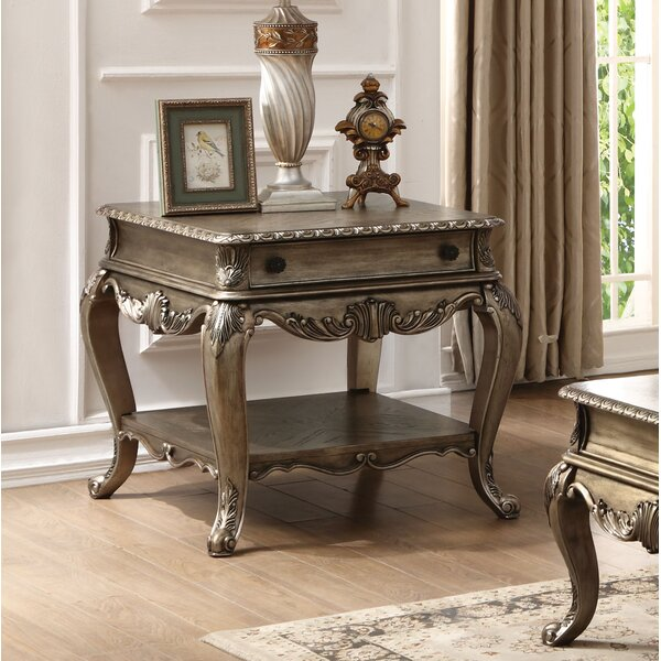 Welling End Table with Storage by Astoria Grand