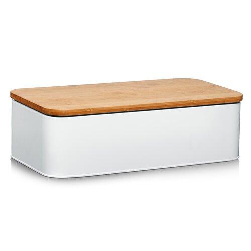 Brotkasten Zeller Present Farbe: Weiß matt | Küche und Esszimmer > Aufbewahrung > Brotkasten | Zeller Present