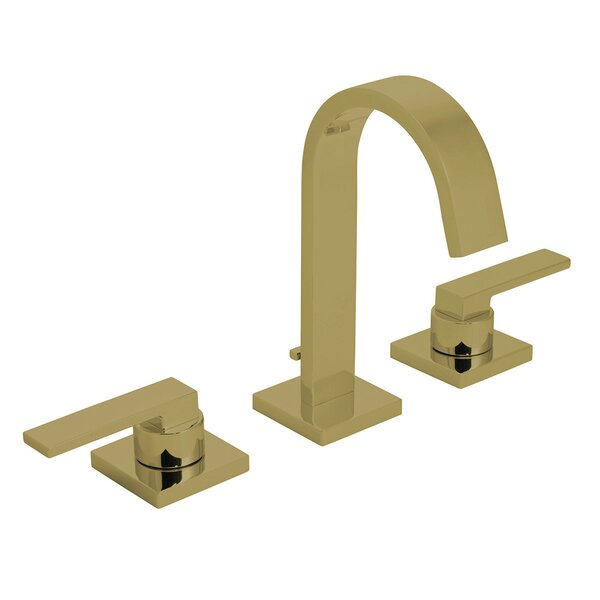 Lura Widespread Bathroom Faucet with Drain Assembly