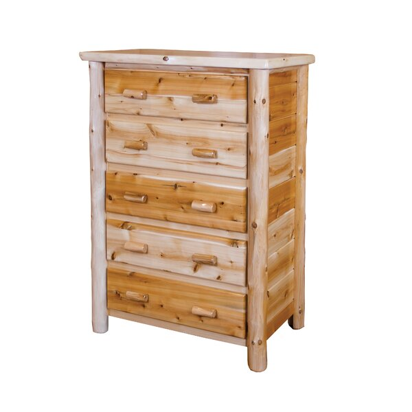 Delmar 5 Drawer Chest by Loon Peak