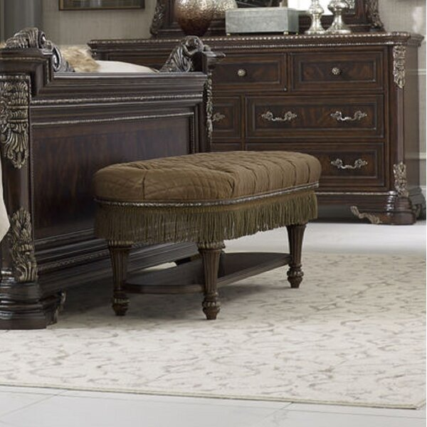 Hepburn Upholstered Bench by Astoria Grand