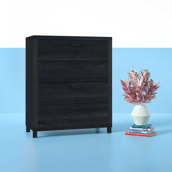 Edwidge 4 Drawer Chest by Hashtag Home