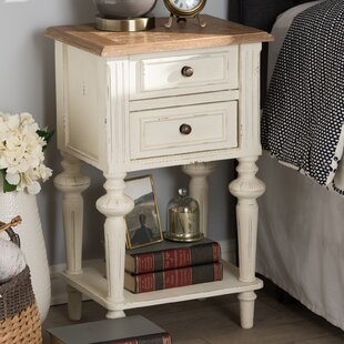 Buy clear Westrick French Provincial 2 Drawer Nightstand by Ophelia & Co.