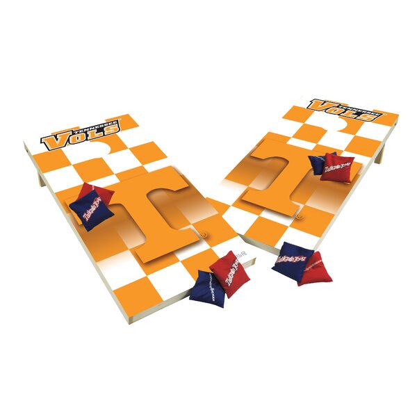 NCAA XL Shields Cornhole Set by Tailgate Toss