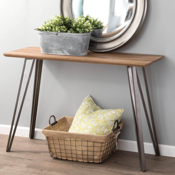 Pinnix Console Table By Union Rustic