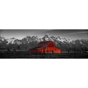 Barn Grand Teton Wall Art on Wrapped Canvas by Loon Peak