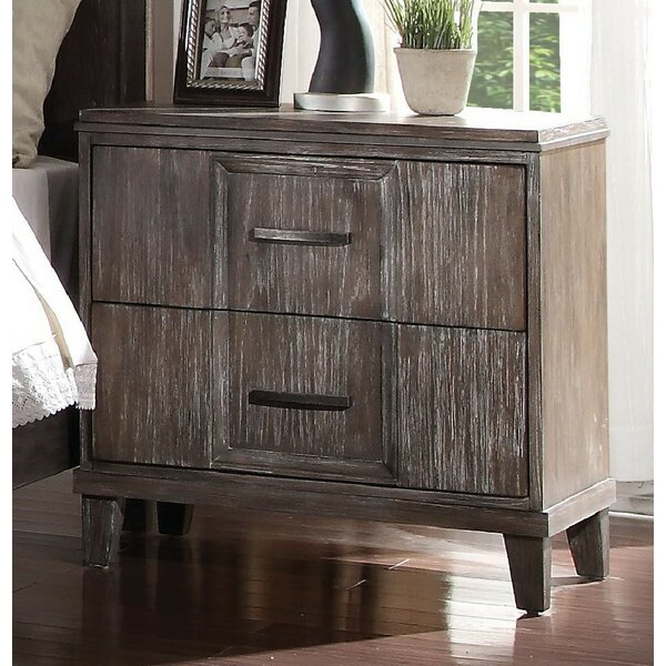 Alana 2 Drawer Nightstand by Foundry Select