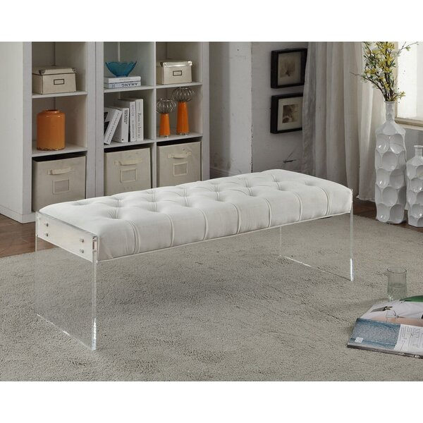 Diana Upholstered Bench by Everly Quinn Everly Quinn