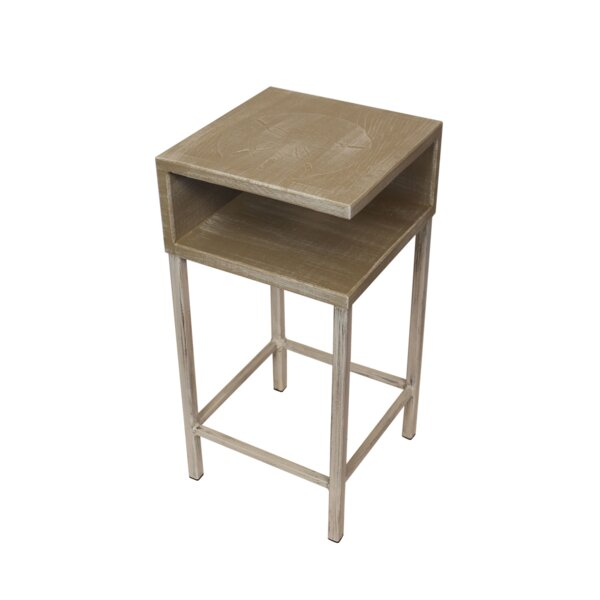 Vetter End Table By Highland Dunes