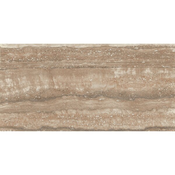 San Giulio 12 x 24 Ceramic Field Tile in Borgo Brown by Interceramic