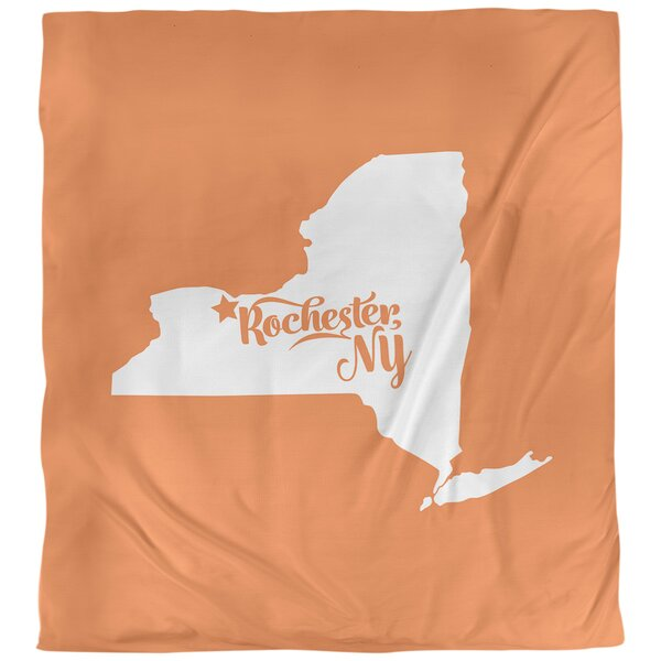 Rochester New York Duvet Cover