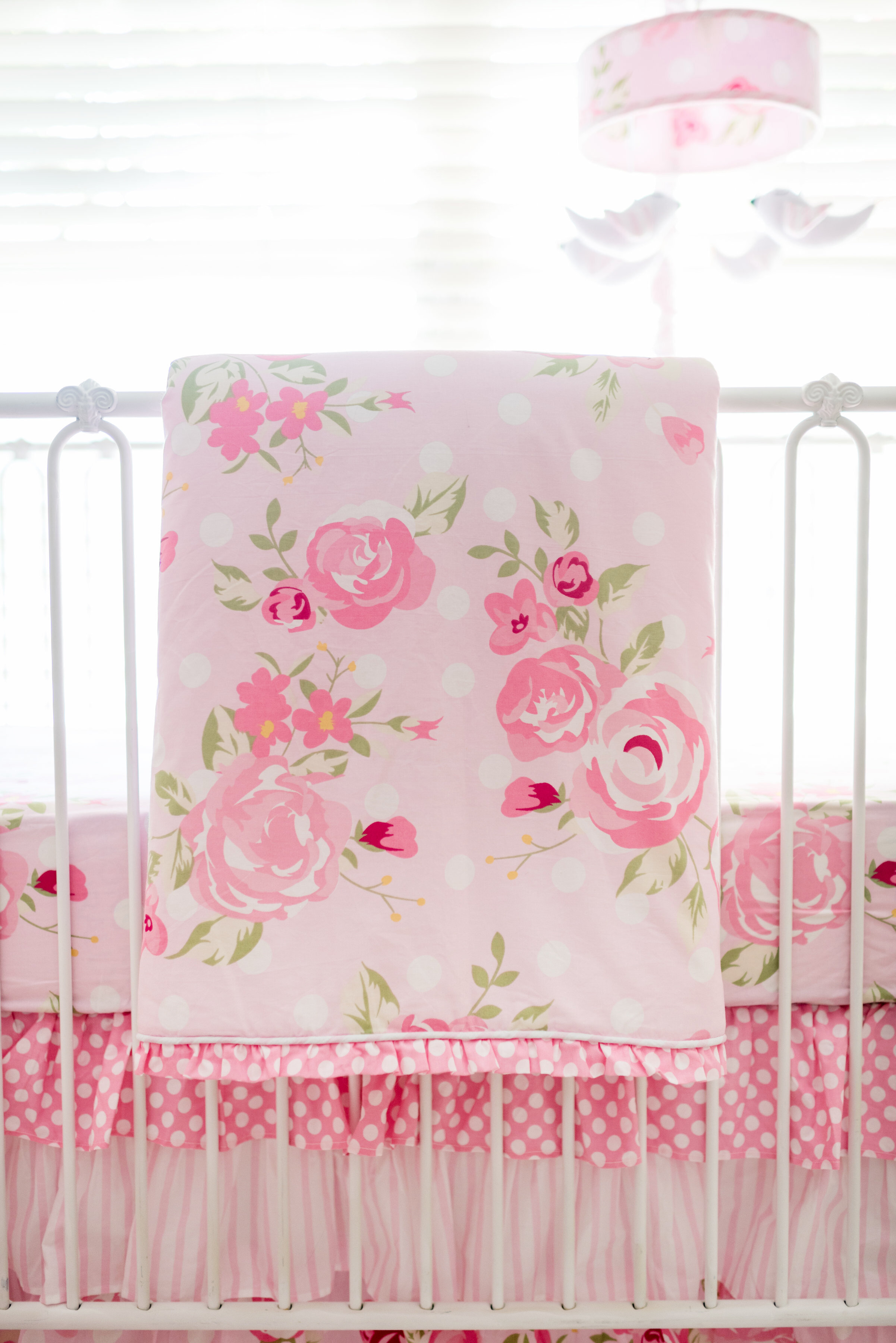 lottie dreams floral crib bedding watercolor purple aqua img set bumperless baby product da cribs ocean