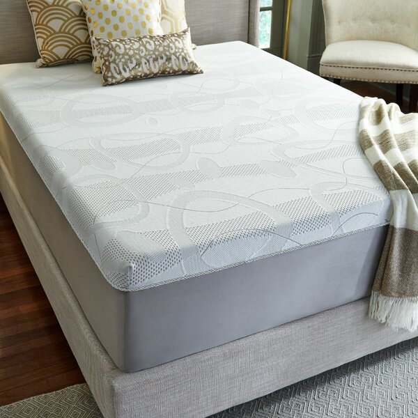 Otero 14 inch Plush Memory Foam Mattress by Alwyn Home