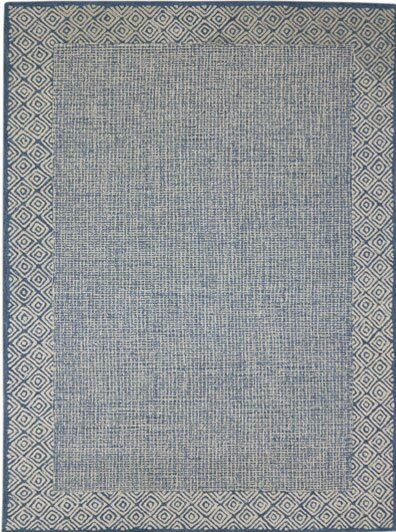 Melaney Hand-Tufted Handmade Blue Area Rug by Bungalow Rose